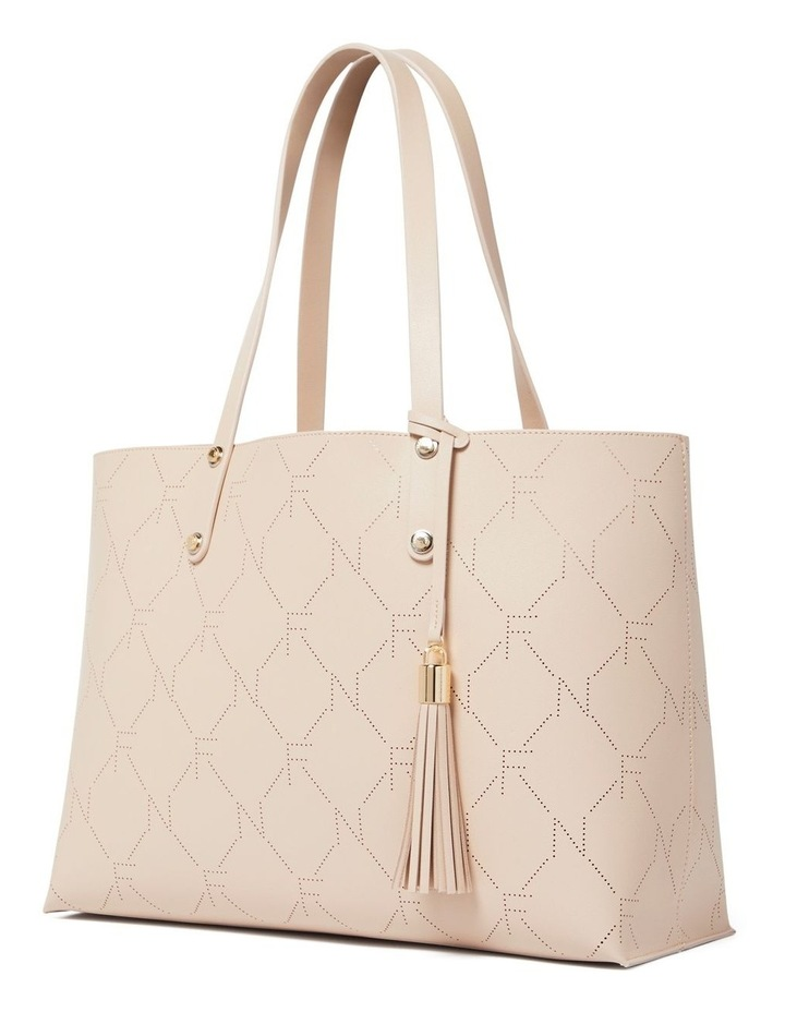 Libby Perforated Logo Tote image 2