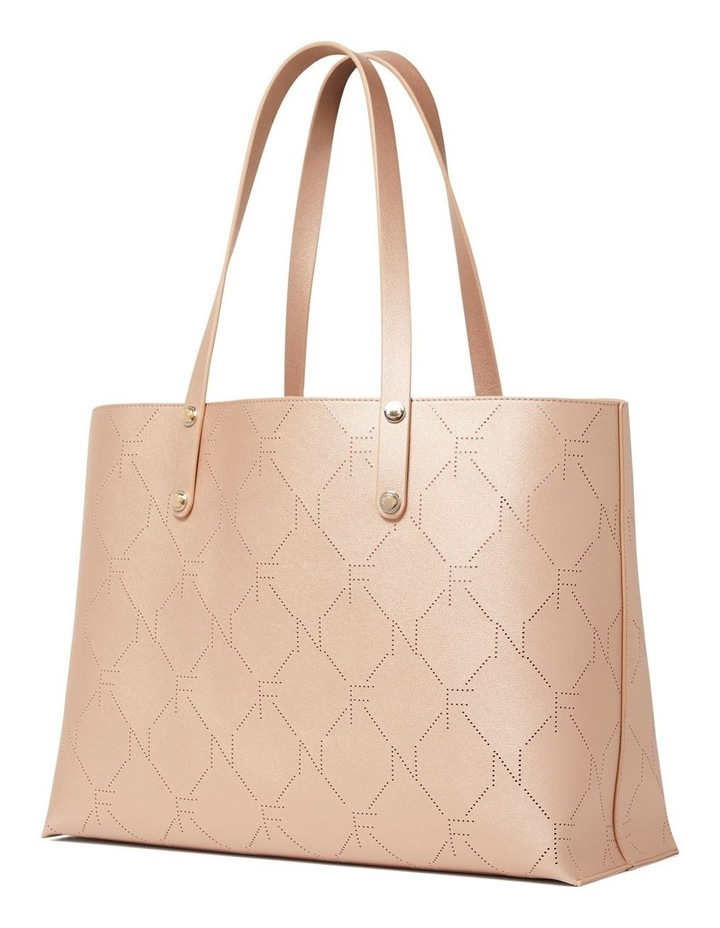 Libby Perforated Logo Tote image 5