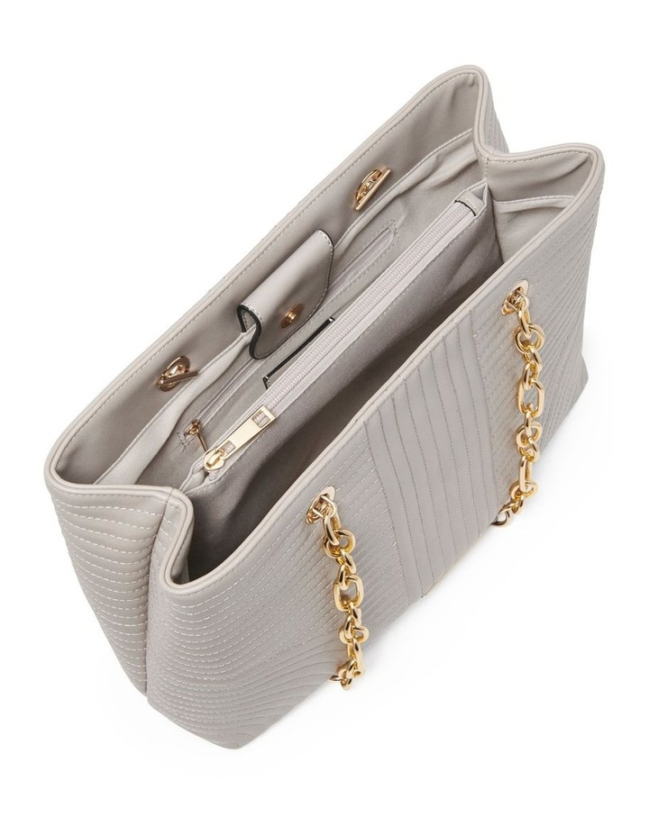 Clarissa Quilted Chain Tote image 3