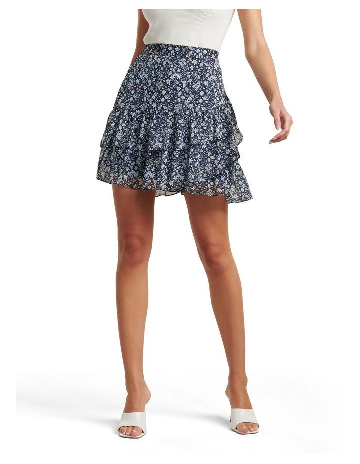 Francesca Ruffle Mini Skirt image 1