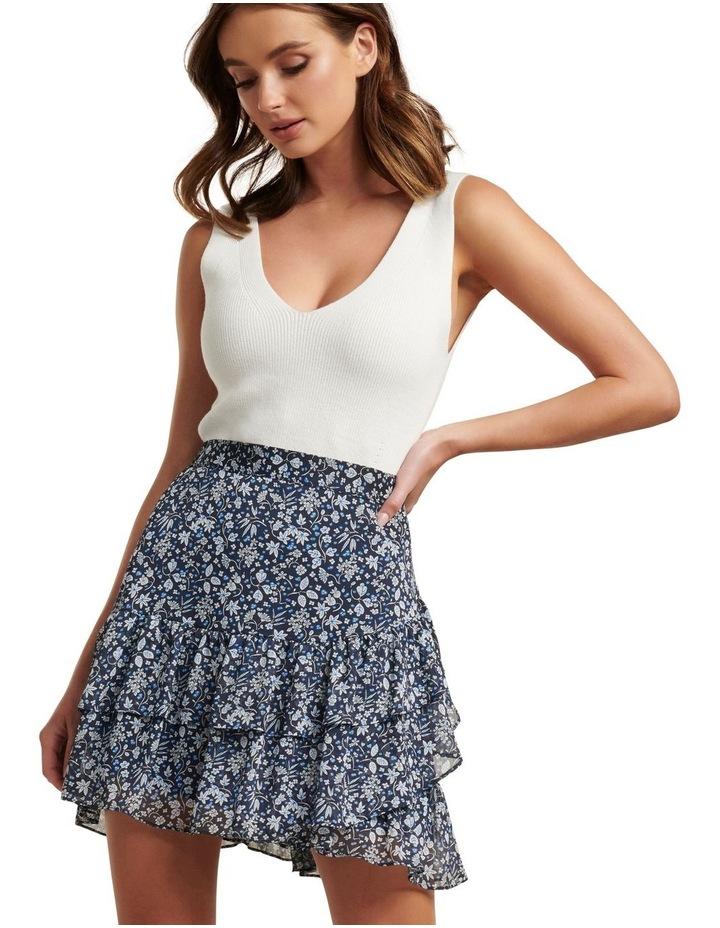 Francesca Ruffle Mini Skirt image 2