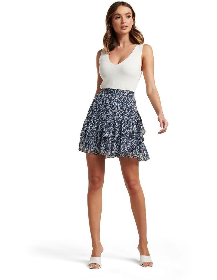 Francesca Ruffle Mini Skirt image 5
