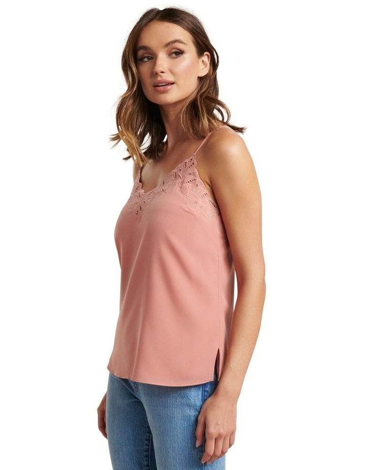Rose Embroidered Cutwork Cami image 2