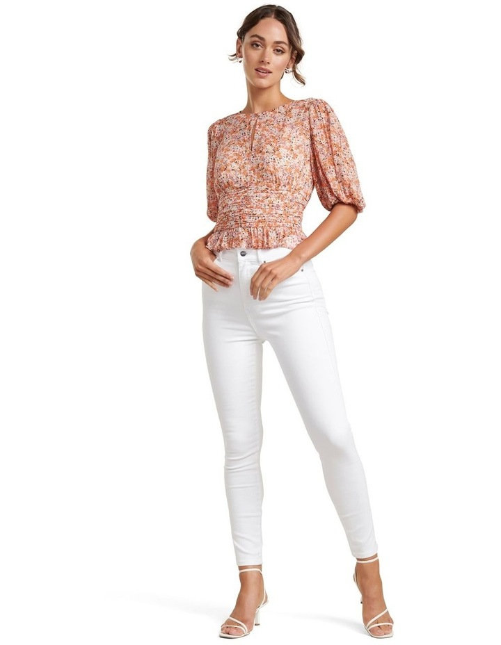 Harper Ditsy Puff Sleeve Blouse image 1