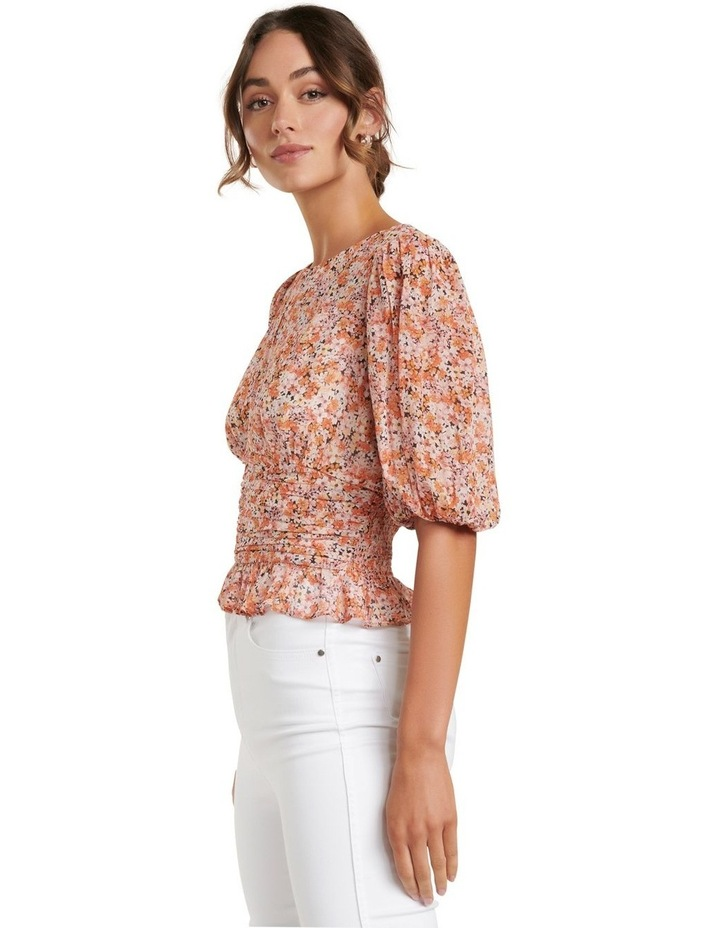 Harper Ditsy Puff Sleeve Blouse image 2