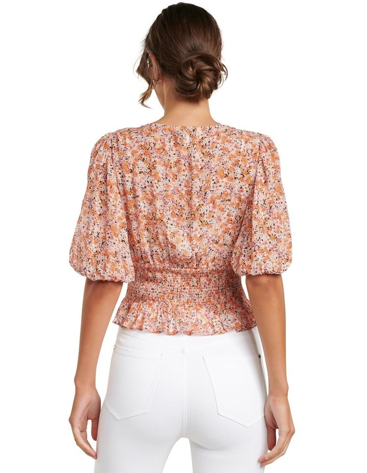 Harper Ditsy Puff Sleeve Blouse image 3