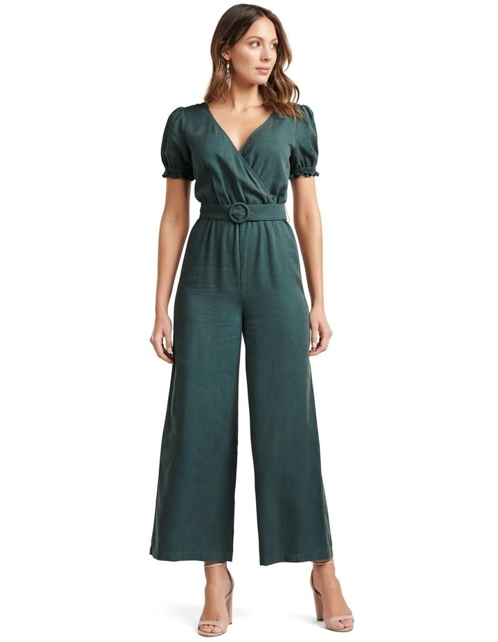 Margot Puff Sleeve Jumpsuit image 1