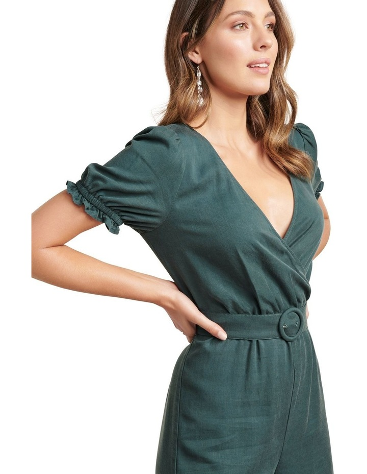 Margot Puff Sleeve Jumpsuit image 2