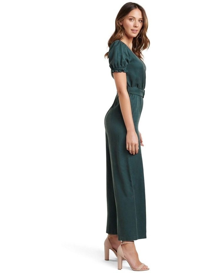 Margot Puff Sleeve Jumpsuit image 3