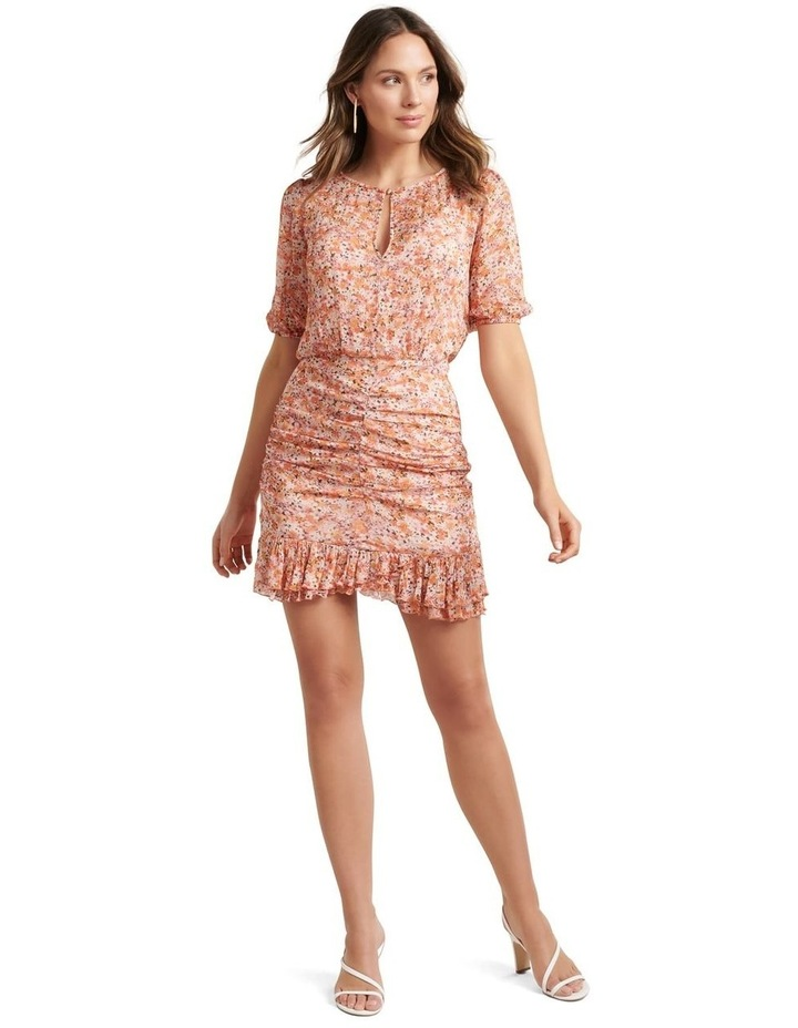 Kylie Ruched Mini Dress image 5