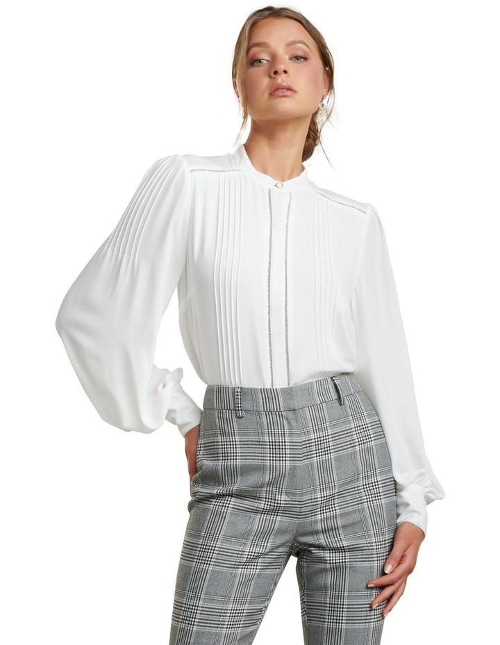 Roseanne Trim Pin Tuck Shirt image 1