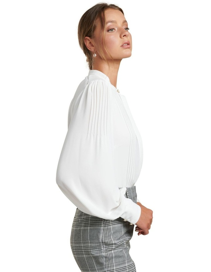Roseanne Trim Pin Tuck Shirt image 3