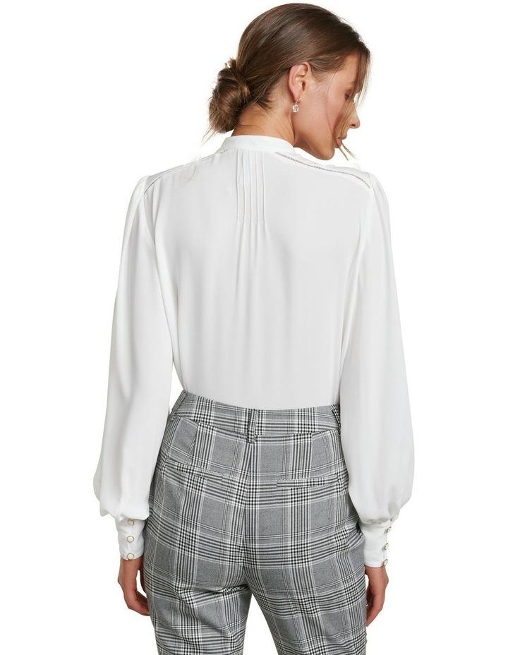Roseanne Trim Pin Tuck Shirt image 4