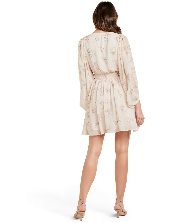 Peyton Blouson Sleeve Skater Dress image 4
