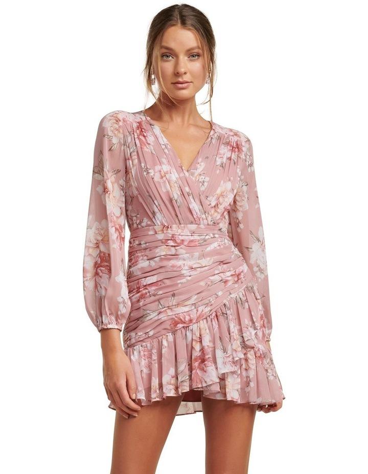 Valentina Petite Pleated Mini Dress image 1