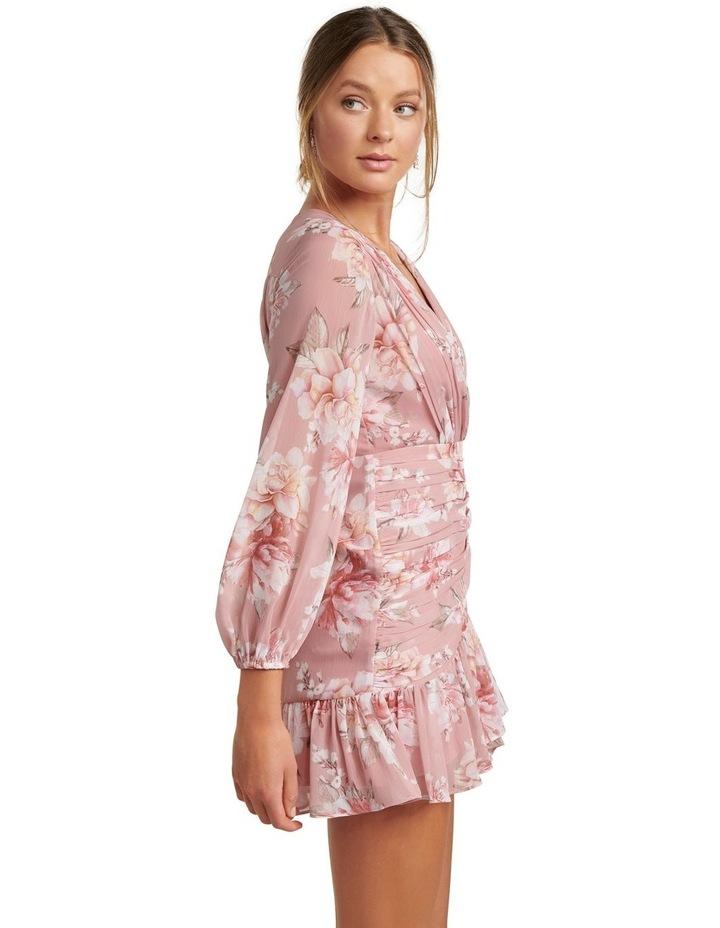 Valentina Petite Pleated Mini Dress image 3