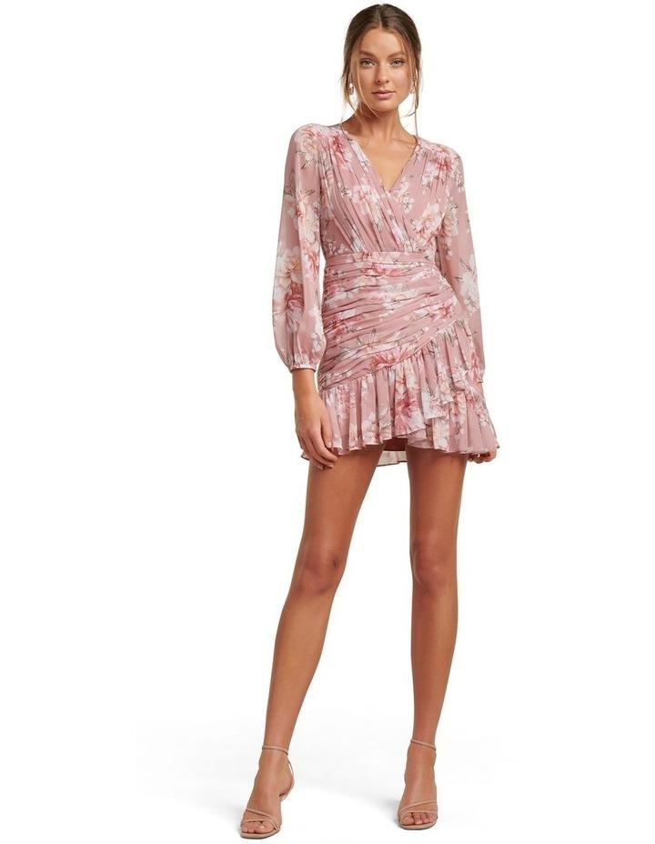 Valentina Petite Pleated Mini Dress image 5