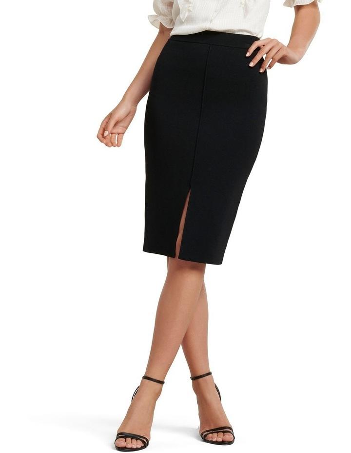Bree Crepe Pencil Knit Skirt image 1