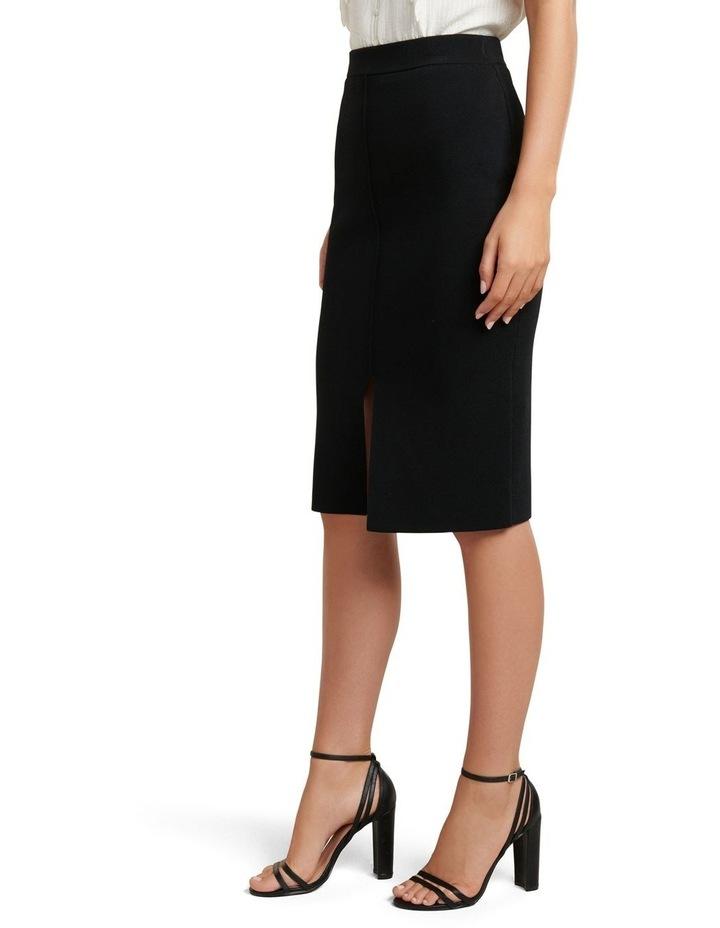 Bree Crepe Pencil Knit Skirt image 2