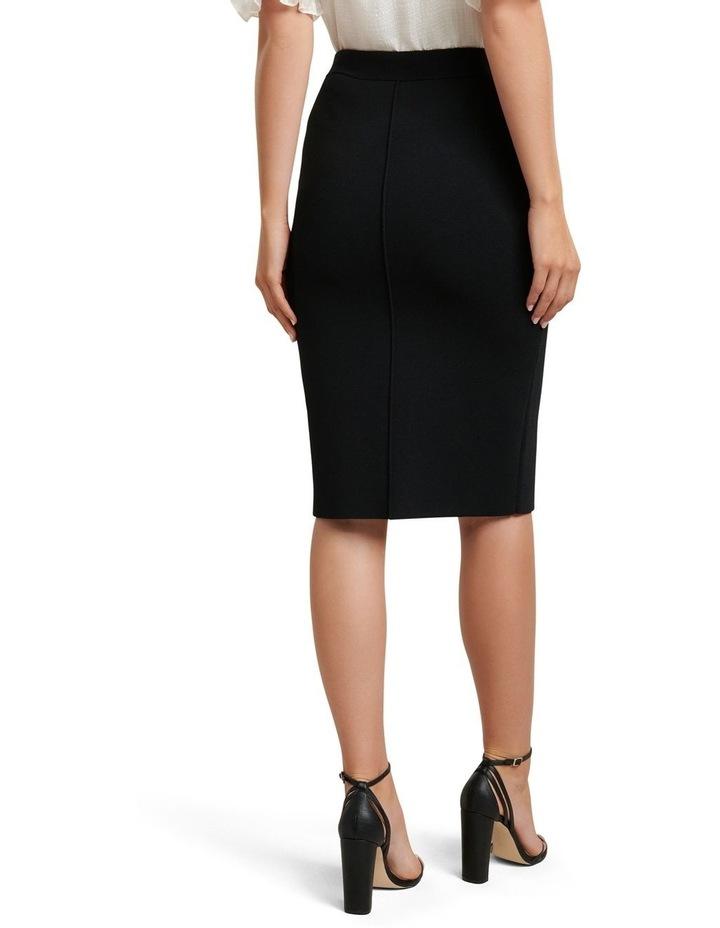 Bree Crepe Pencil Knit Skirt image 3