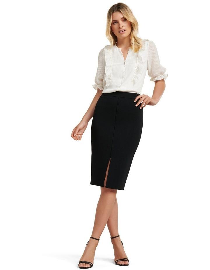 Bree Crepe Pencil Knit Skirt image 4