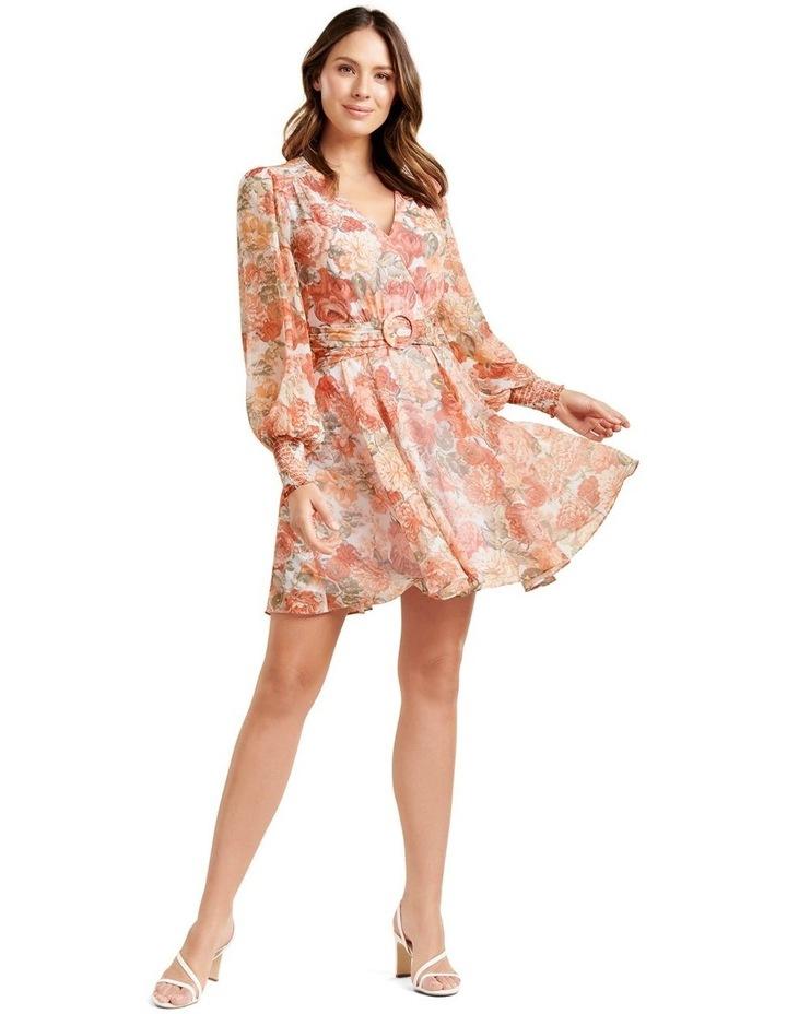 Clara Belted Skater Dress image 4