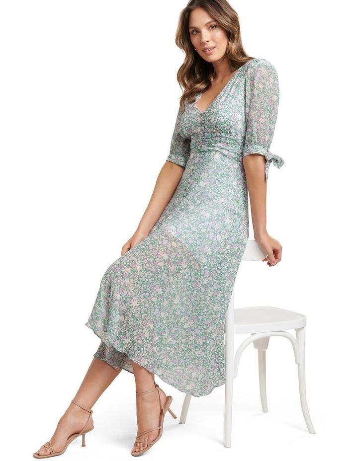 Sadie Tie Detail Maxi Dress image 1