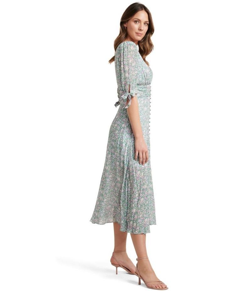 Sadie Tie Detail Maxi Dress image 3