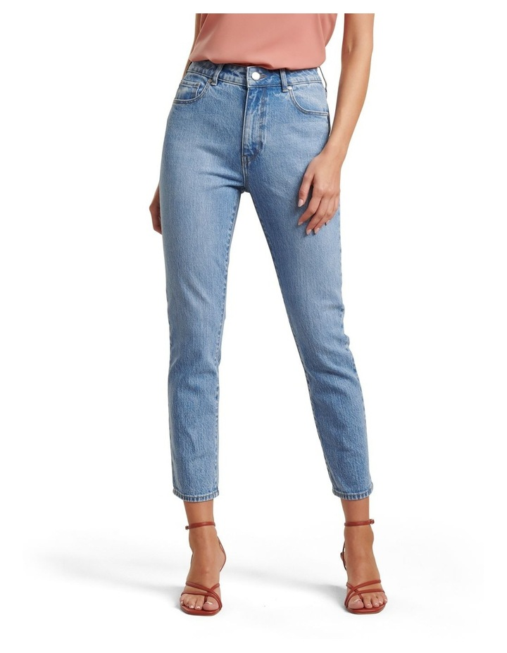 Isabel Mid Rise Straight Jeans image 1