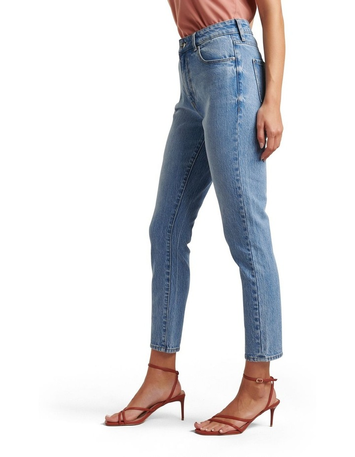 Isabel Mid Rise Straight Jeans image 2
