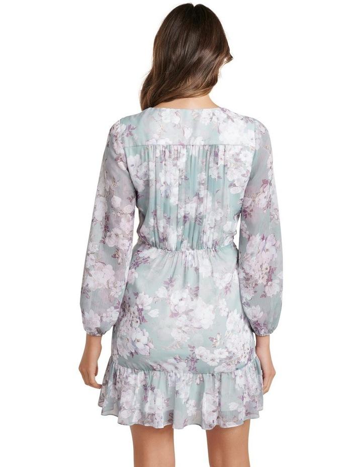 Valentina Pleated Wrap Mini Dress image 4