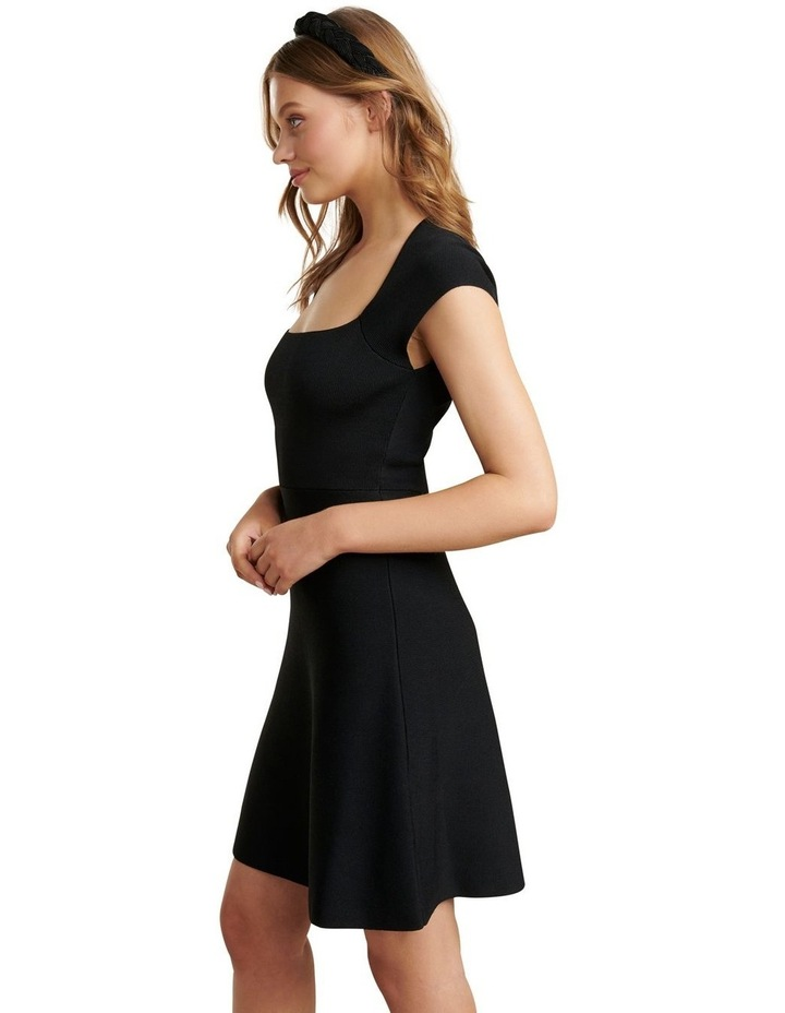 Morgan Square Neck Knit Dress image 3