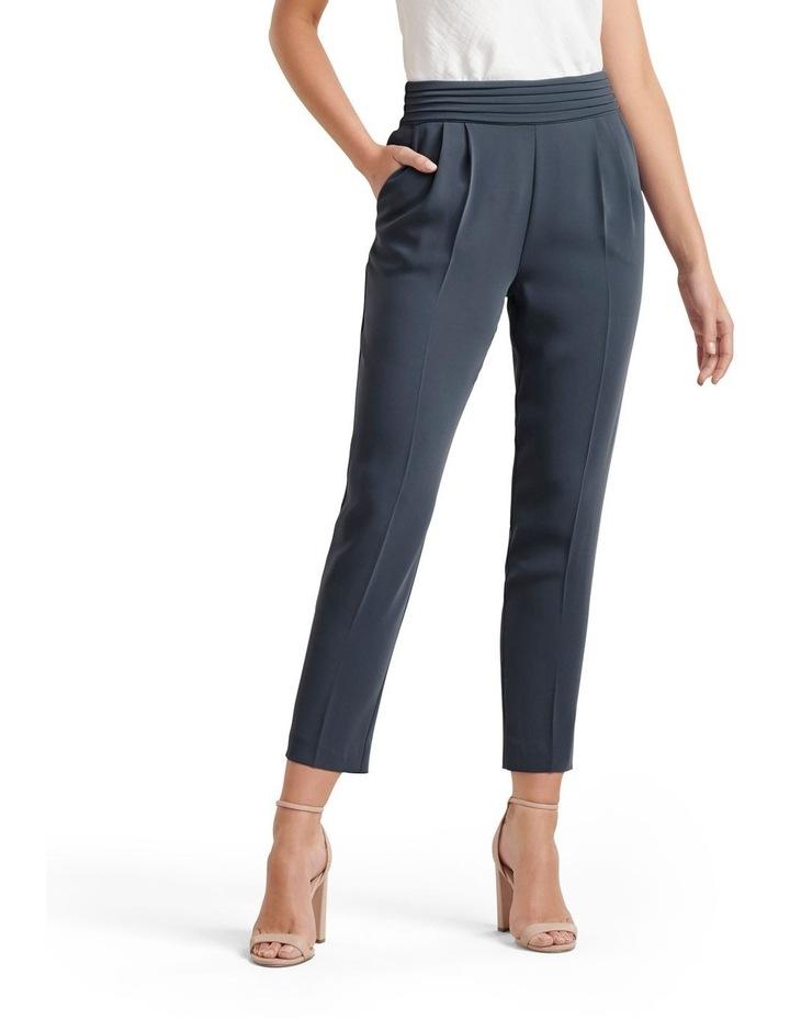 Zoe Pleated Elastic Back Pants image 1