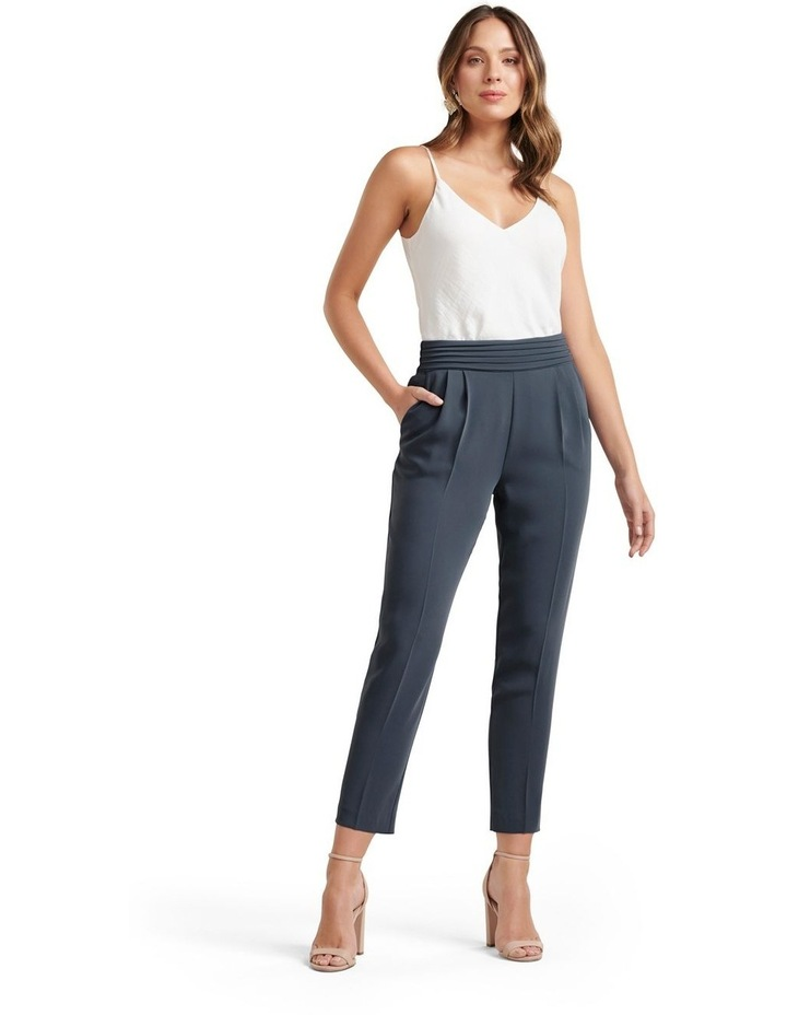 Zoe Pleated Elastic Back Pants image 4