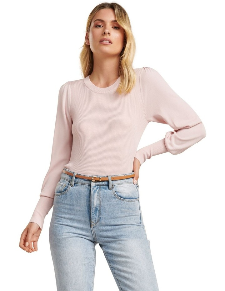 Darcie Pleat Shoulder Jumper image 1