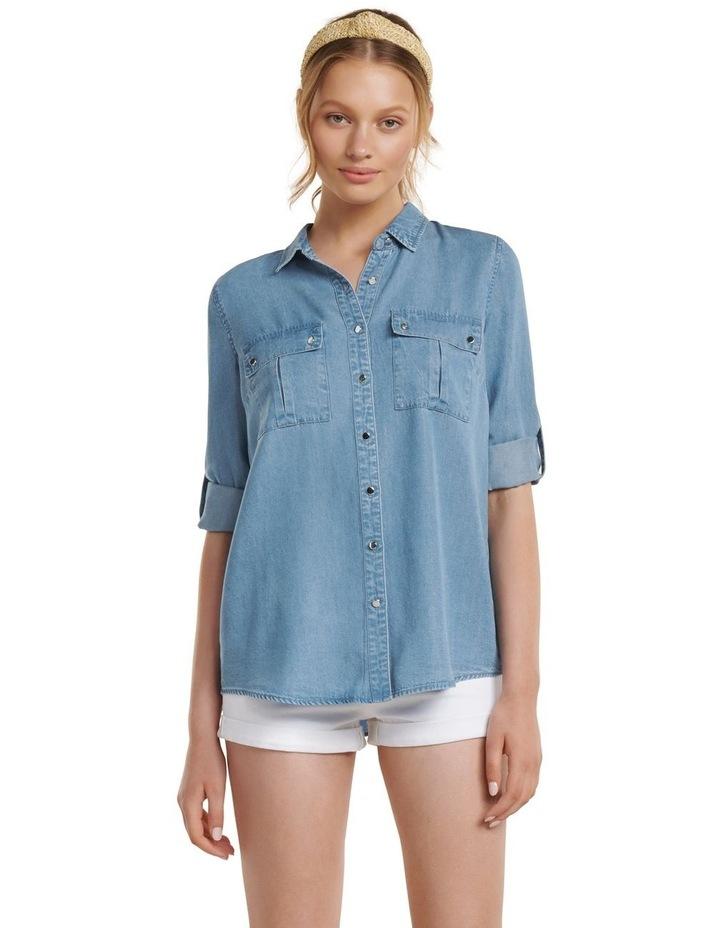 Amy Denim Shirt image 2