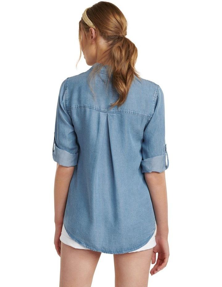 Amy Denim Shirt image 4