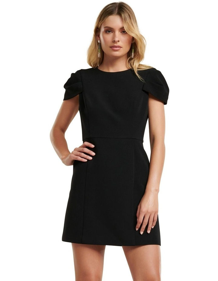 Perla Petal Sleeve Mini Dress image 1