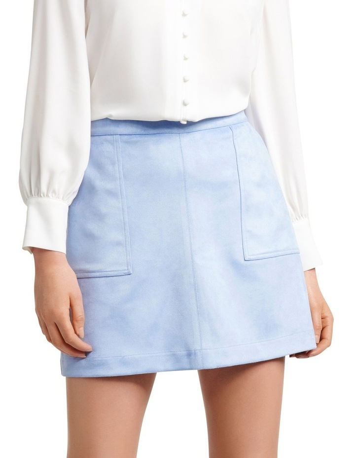 Tara Suedette Mini Skirt image 1