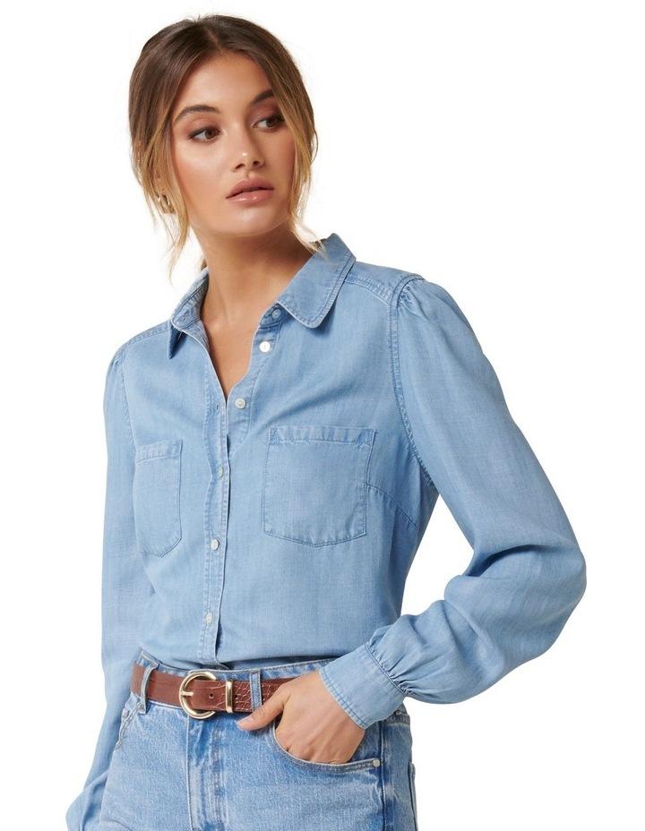 Billie Soft Denim Shirt image 1