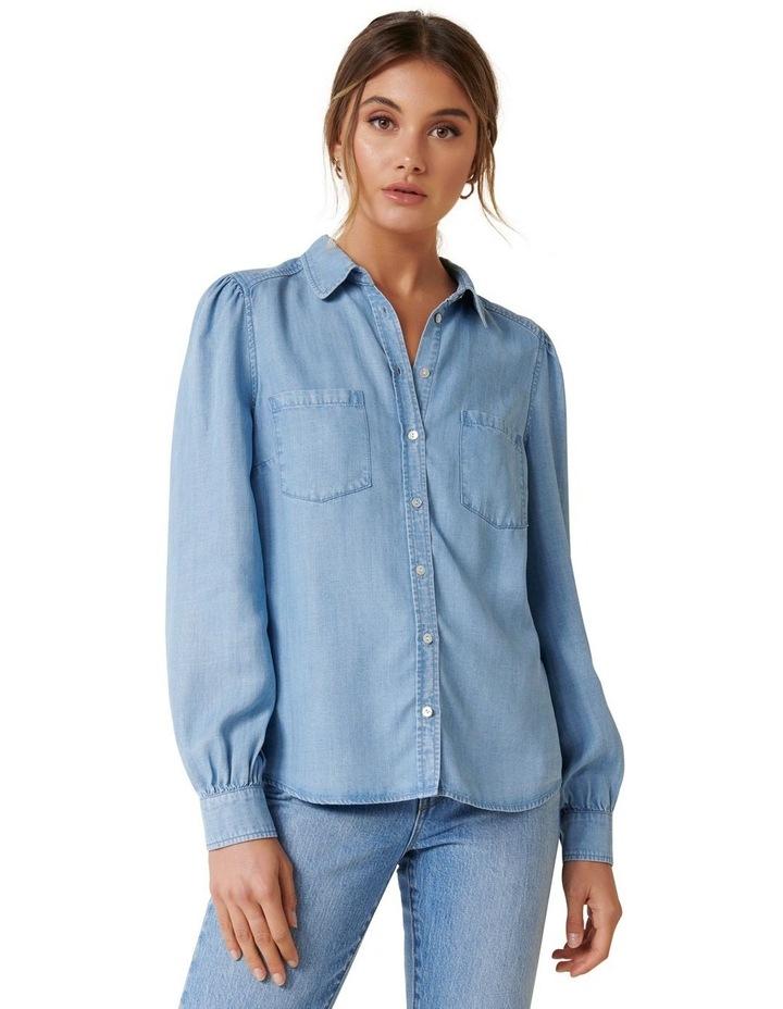 Billie Soft Denim Shirt image 2