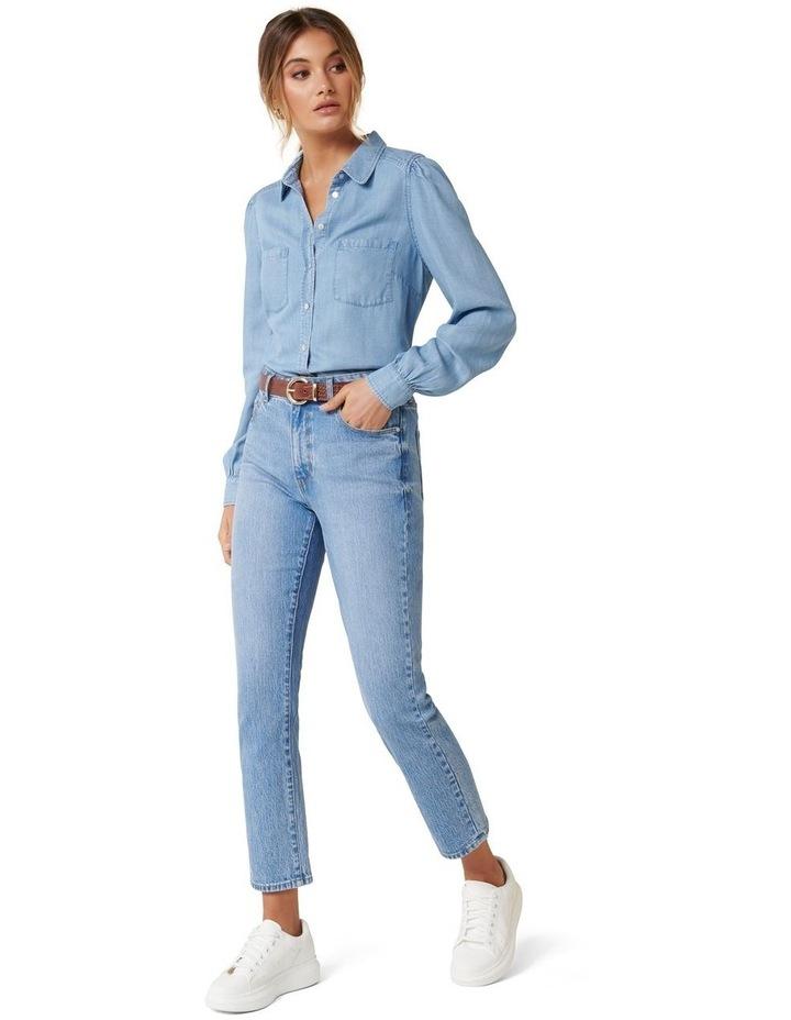 Billie Soft Denim Shirt image 5