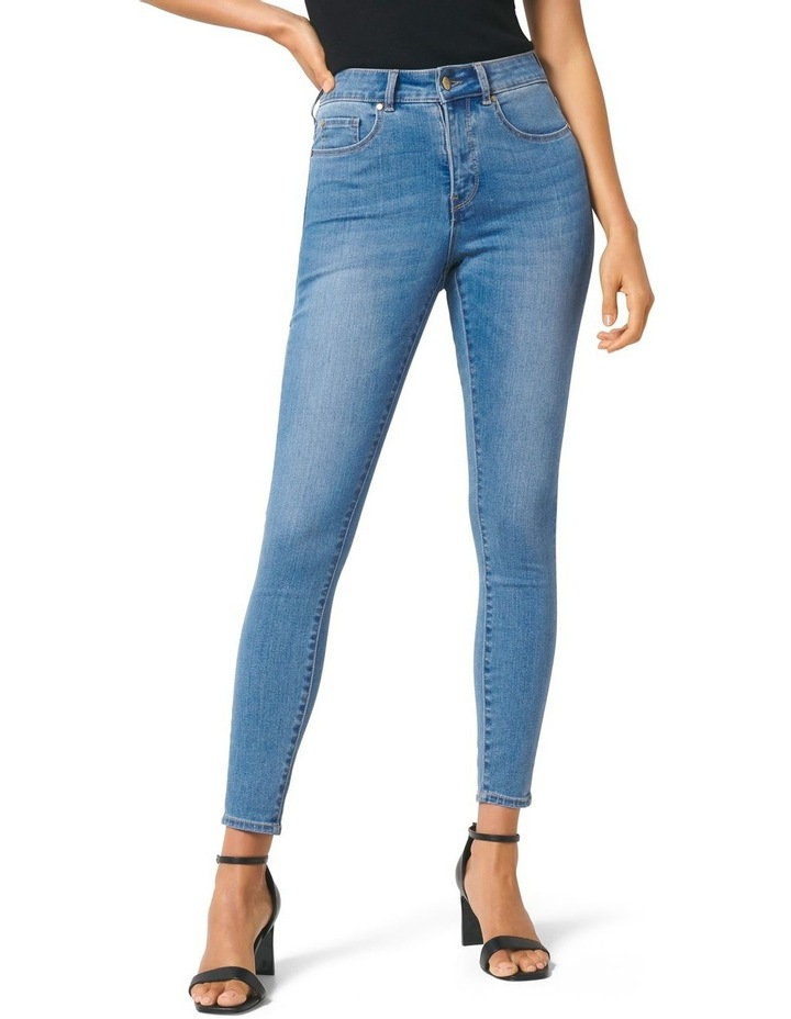 Hailey Mid Rise Curvy Jean image 1