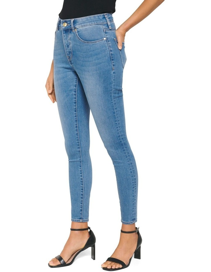 Hailey Mid Rise Curvy Jean image 2