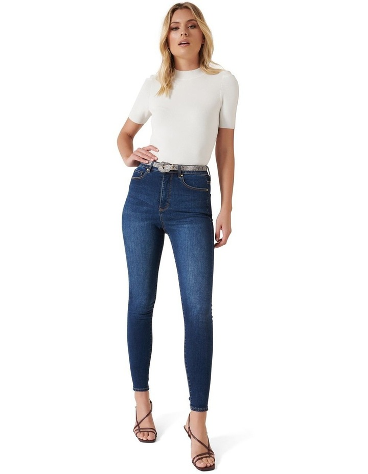 Bella High Rise Sculpting Jeans image 4