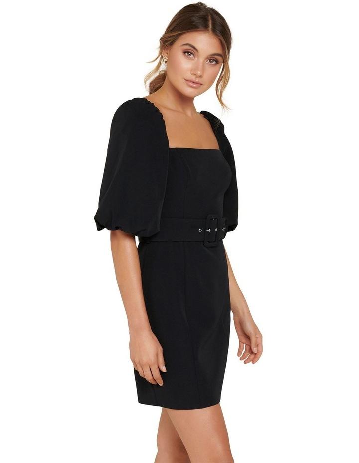 Henley Puff Sleeve Mini Dress image 4