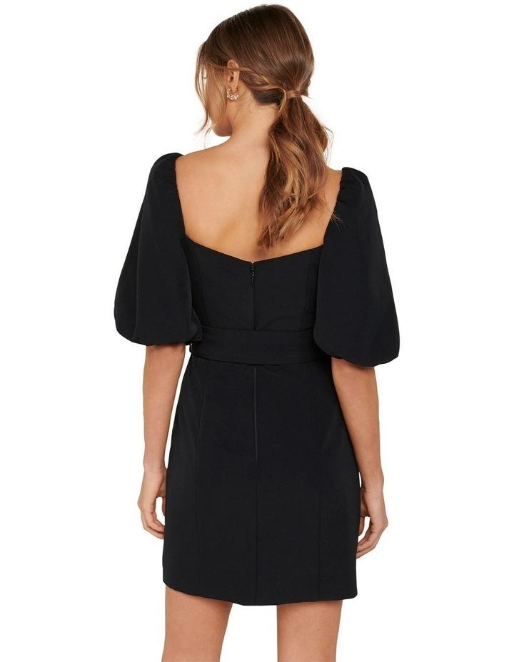 Henley Puff Sleeve Mini Dress image 5