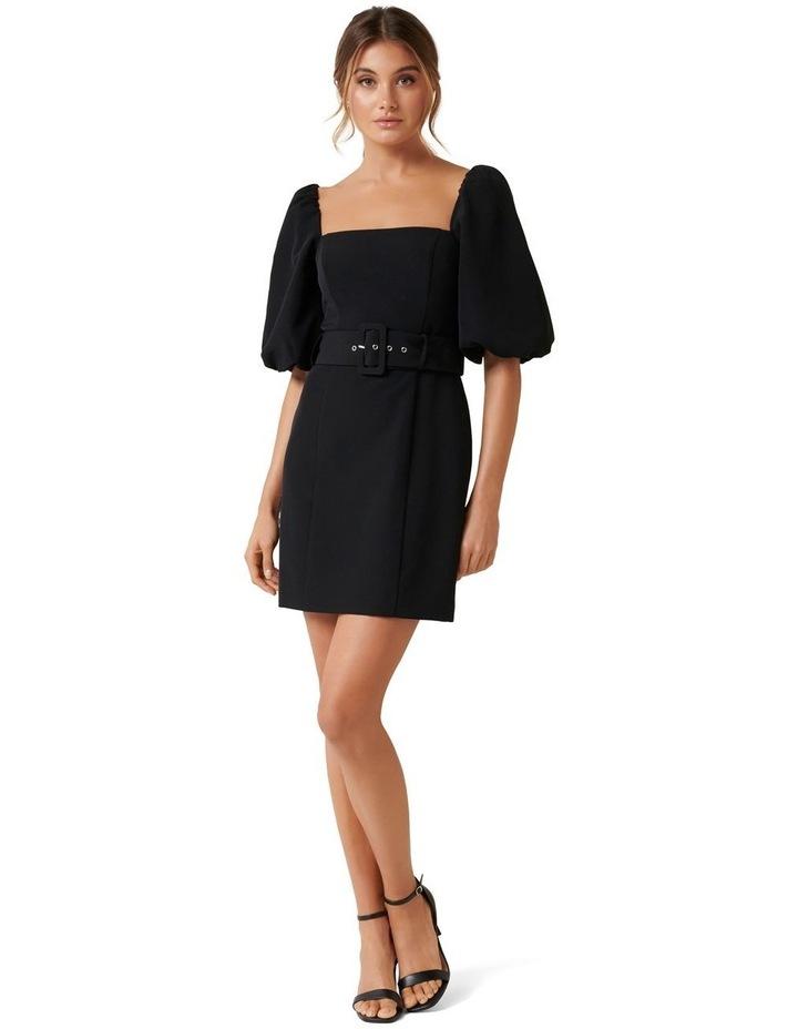 Henley Puff Sleeve Mini Dress image 6