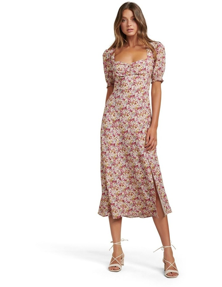 Nadine Short Sleeve Midi Dress image 1