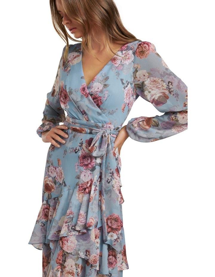Fleur Long Sleeve Wrap Dress image 2